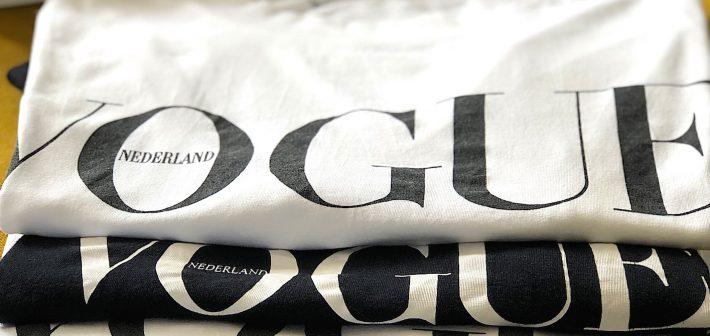 Het iconische T-shirt van Vogue