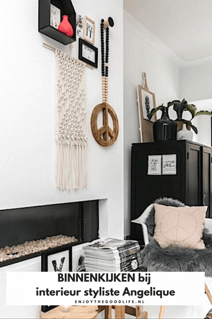 BINNENKIJKEN bij interieur styliste Angelique | ENJOY! The Good Life