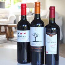 3x rode wijn proeven van Gall & Gall