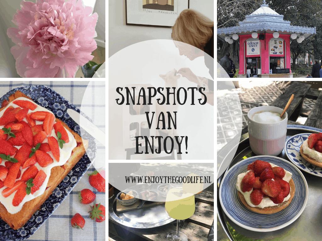 Snapshots week 24 en 25/2020 | ENJOY! The Good Life