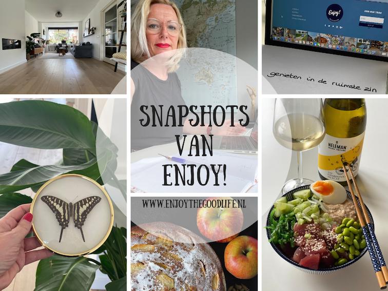 Snapshots week 37/2020 | ENJOY! The Good Life